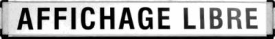 bandeau AFFICHAGE LIBRE 400x58 pixels